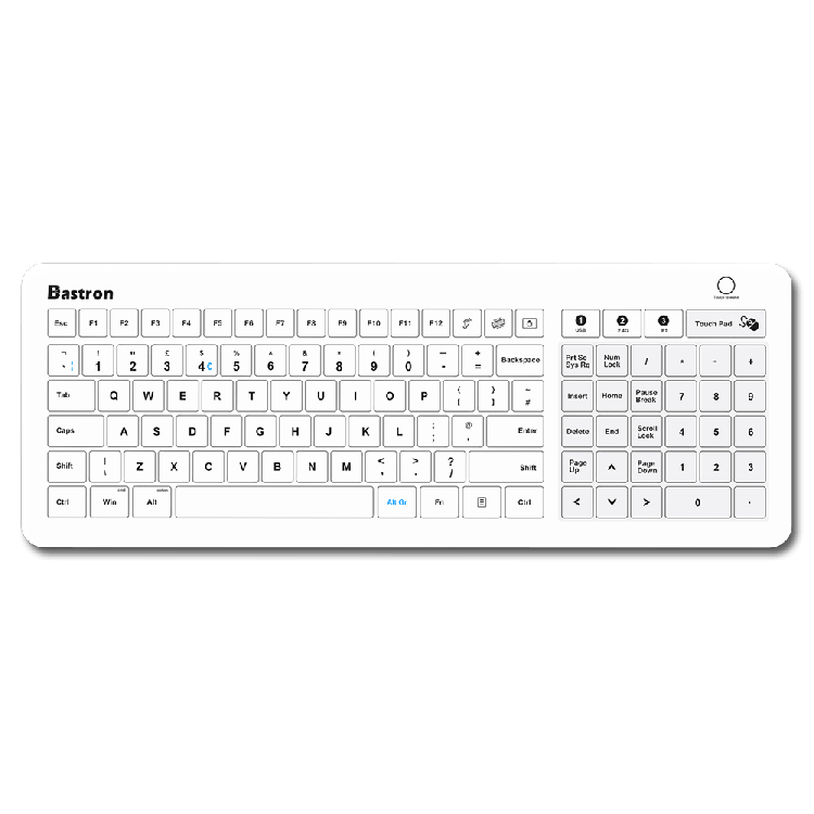 B45 Wireless Medical Glass Keyboard