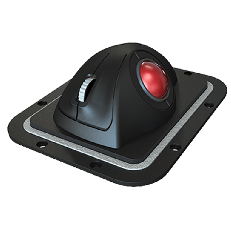 E38-Panel Cursor Controls Trackball
