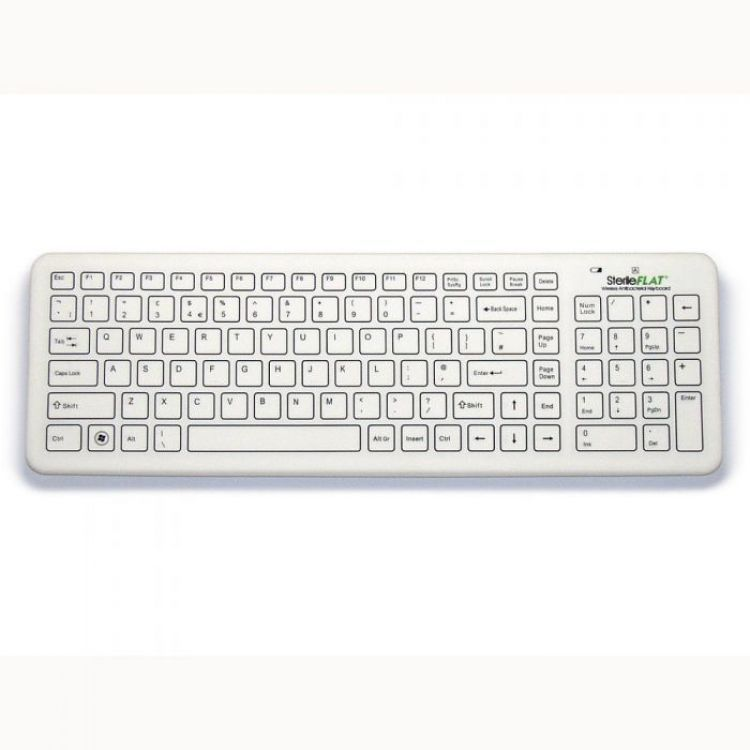 SF09-02W-V4 SterileFLAT Keyboard
